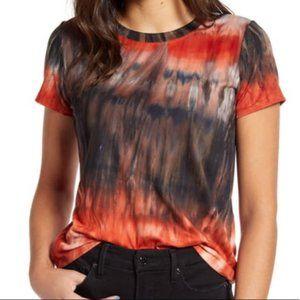 (3/$25)Cotton Emporium Tie Dye Short Sleeve Shirt